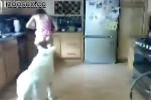 babe dog-porn