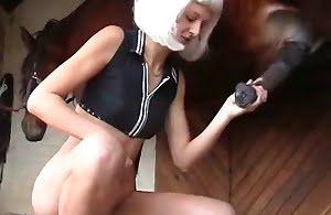 horny, horse-porn